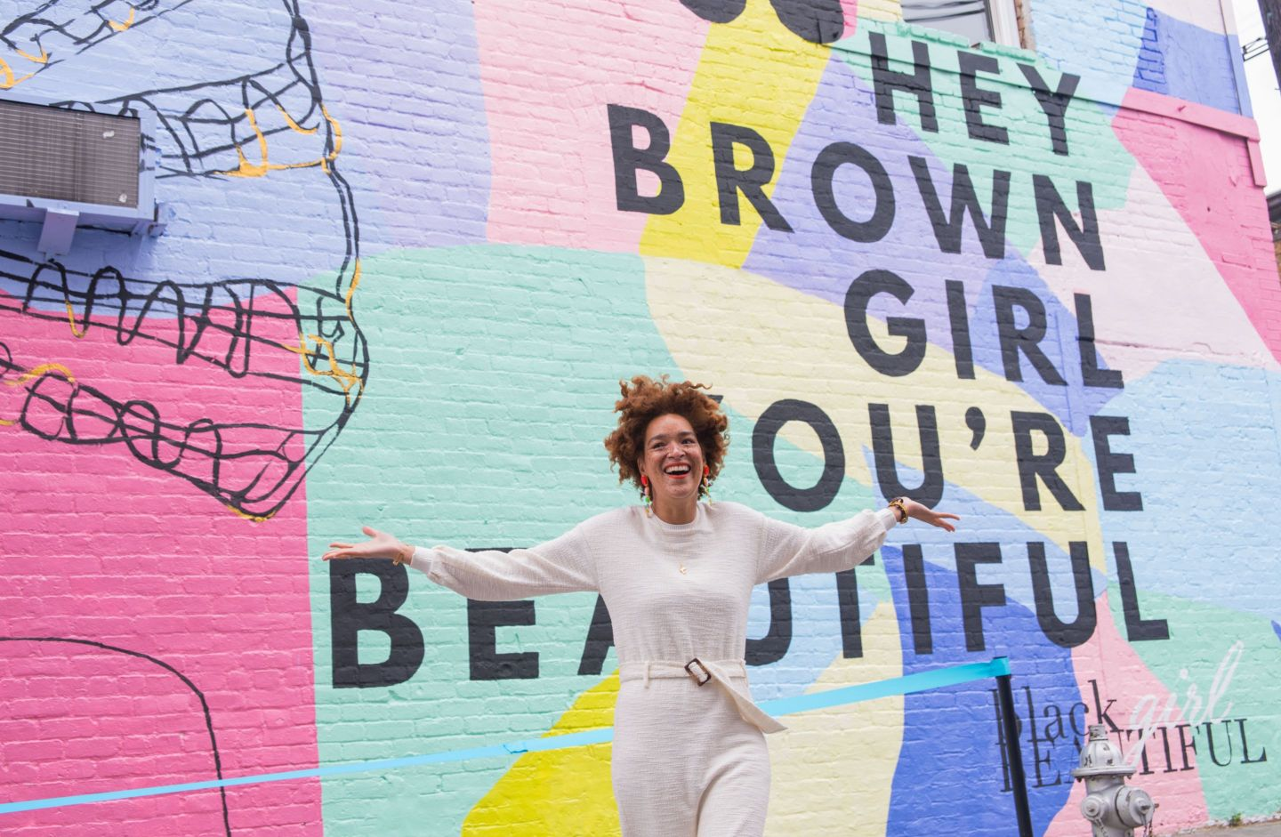 wc_heybrowngirl-77-1440x941 Artist Celebrates Black Girl Magic Through Mural and Shares Her Favorite Black Women Owned Spots in ATL
