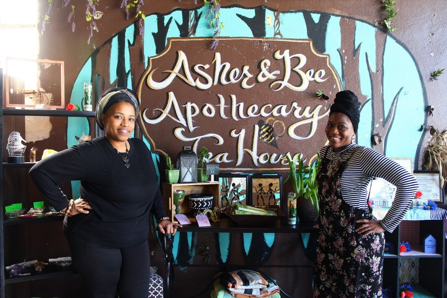 Teahouse Asher & Bee Provides a Welcomed Haven in Downtown Pensacola
