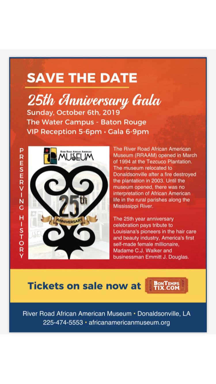 70377090_1480192192123003_1779755115121475584_o River Road African American Museum Celebrates 25 Year Gala