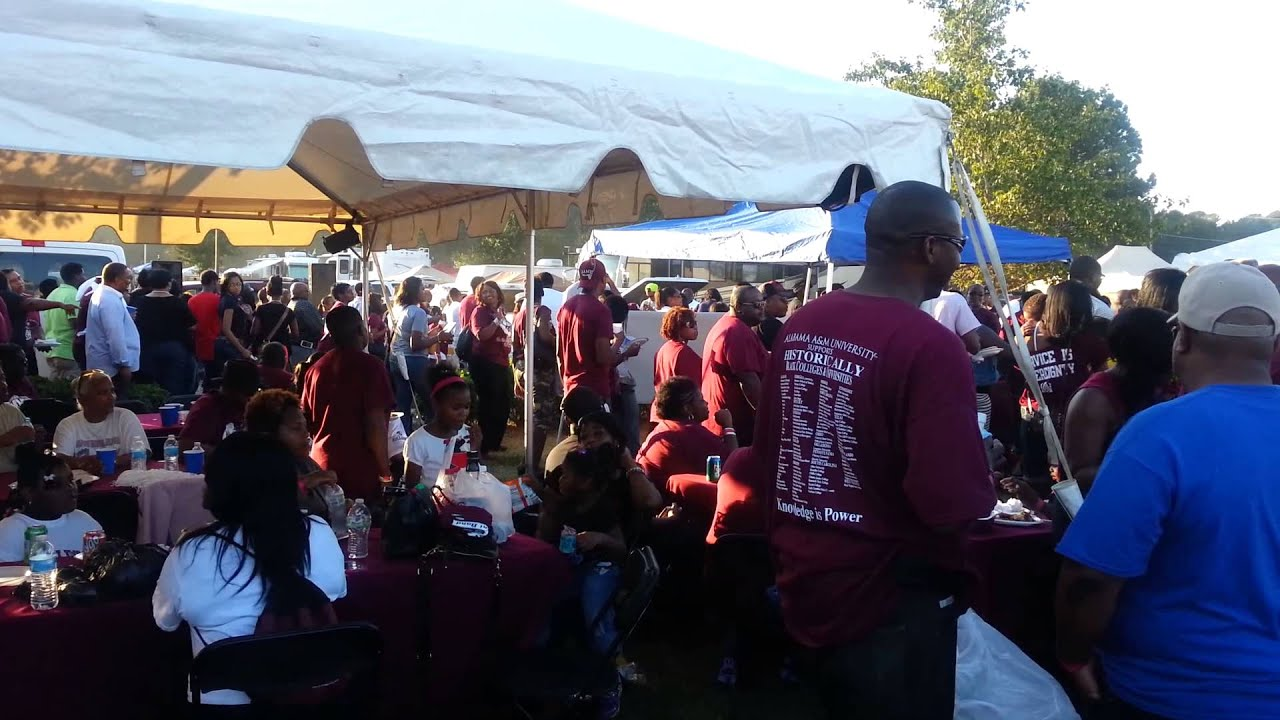 "Alabama-AM-Tailgate-1 HBCU Tailgate Culture and Food: Eating at ""Home"""