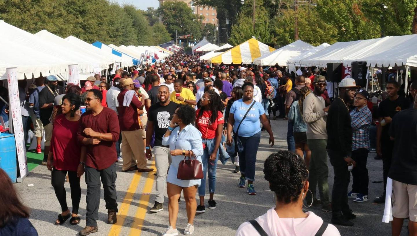 "Spelman-Morehouse-Homecoming-Tailgate-2018-1-1440x814 HBCU Tailgate Culture and Food: Eating at ""Home"""
