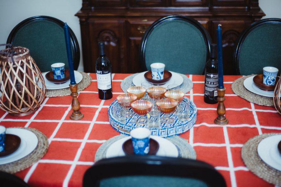 DSC_4764-1 Orange and Blue Fall Inspiration: Fall Tablescape Decor
