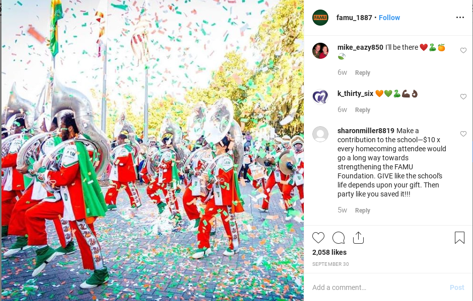 "HBCU Heritage: FAMU Alum Digitizes Decades of Marching ""100"" Performances - A group of people around each other - Florida A&M University"