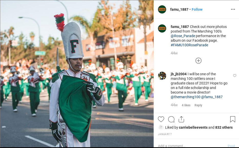 "HBCU Heritage: FAMU Alum Digitizes Decades of Marching ""100"" Performances - A crowd of people in a street - Saint Patrick"