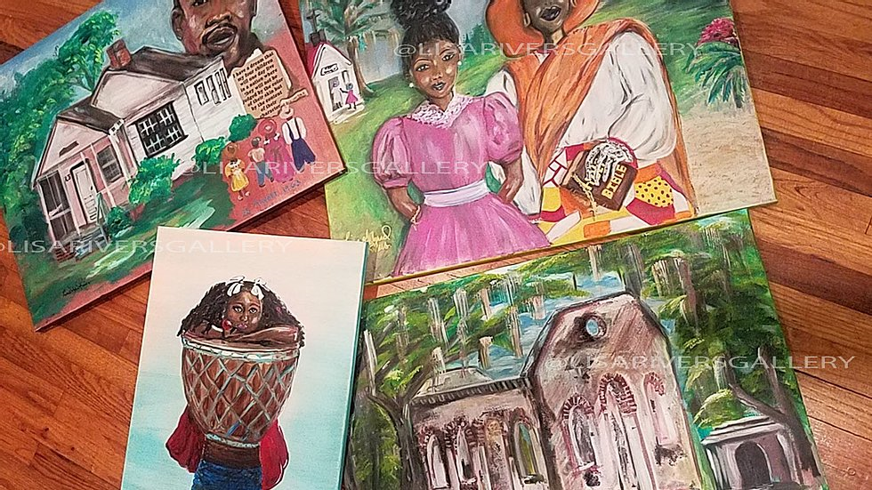 Black Women-Owned Gullah Art Gallery Opens in Beaufort SC
