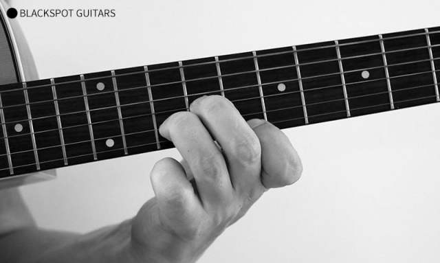 A Minor 3 Guitar Chord Finger Position