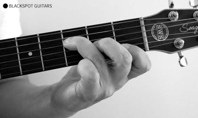 F Major 3 Guitar Chord Finger Position