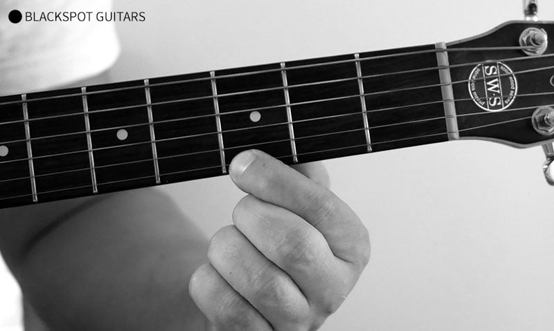G Major 2 Guitar Chord Finger Position