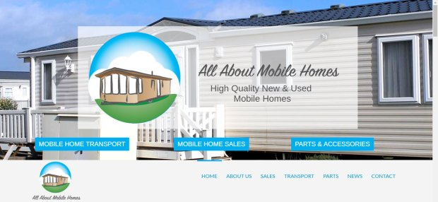 All About Mobile Homes Web Design