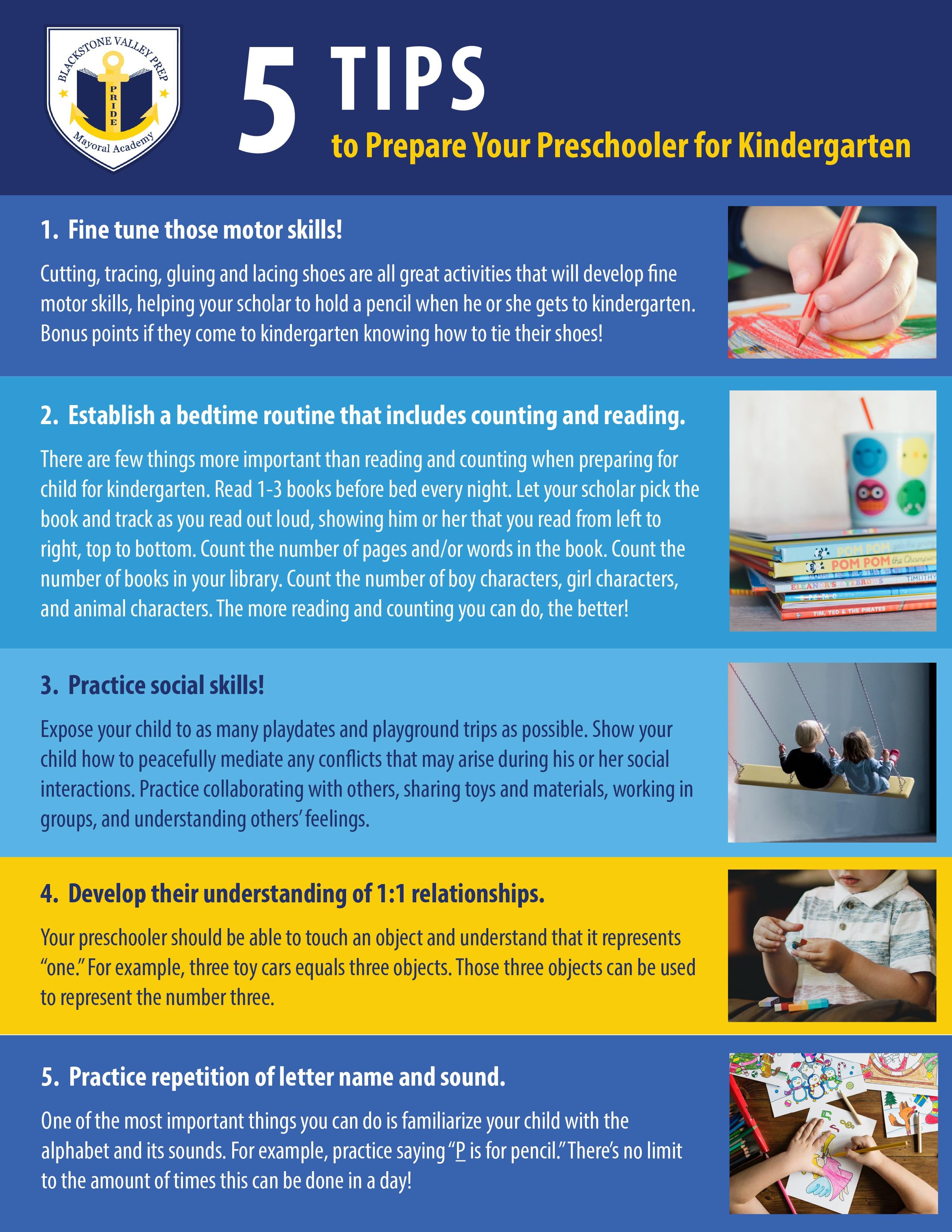 5 Tips To Prepare Your Preschooler For Kindergarten 2 Rhode Island