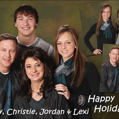 Finck Family Christmas Card – Madison South Dakota Family Pictures
