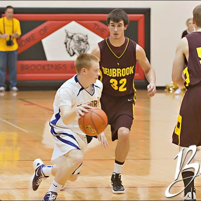 Entringer Classic – Flandreau vs Deubrook Boys Basketball – Brookings SD Sports Photography
