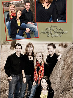 Waldner Christmas Card – Madison South Dakota Family Pictures