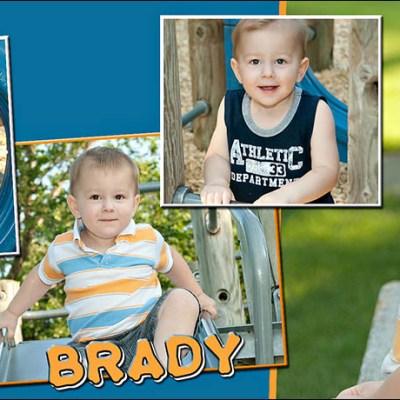 Brady's Birthday Club Magnet – Madison South Dakota Children's Photography