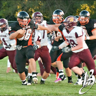 Madison Bulldogs vs Quarriers Football – Dell Rapids South Dakota Sports Photography