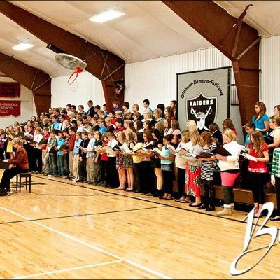 TriSchool Chorus Concert in Ramona