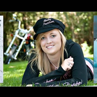 Taylor's Composite Wall Portrait – Rutland South Dakota Senior Pictures