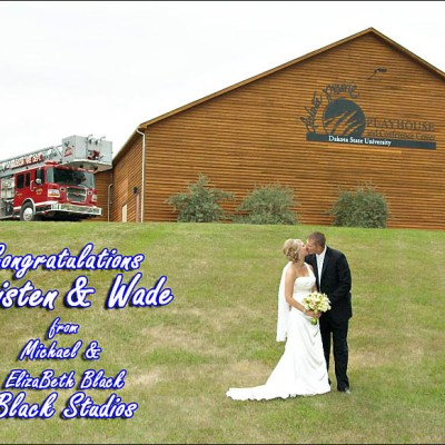 Congratulations Kristen and Wade! Madison South Dakota Wedding Photography