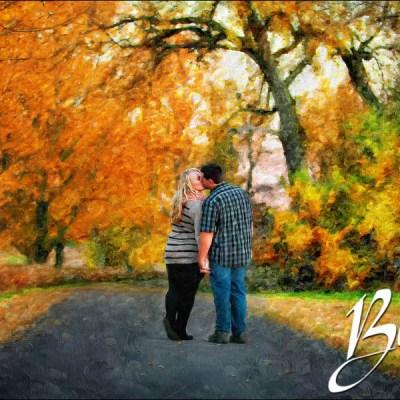 Engagement at Lake Madison – Painting