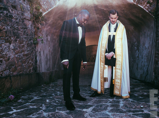 Kanye West and Pastor Rich Wilkinson