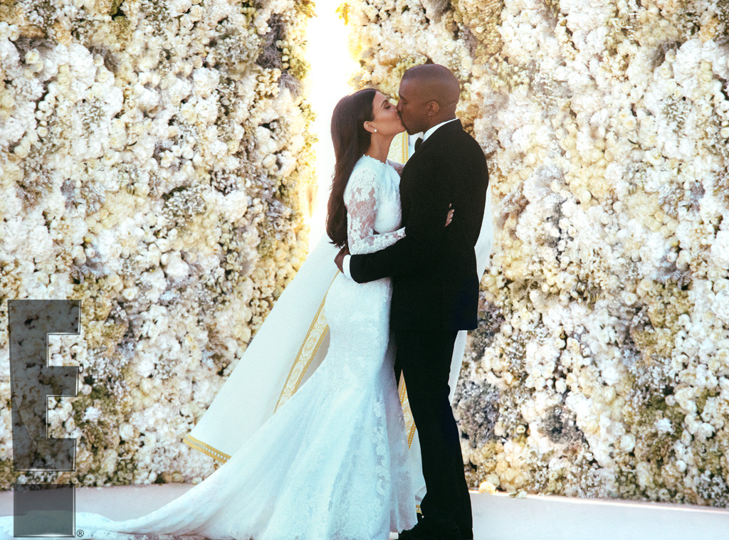 Kanye West and Kim Kardashian get married