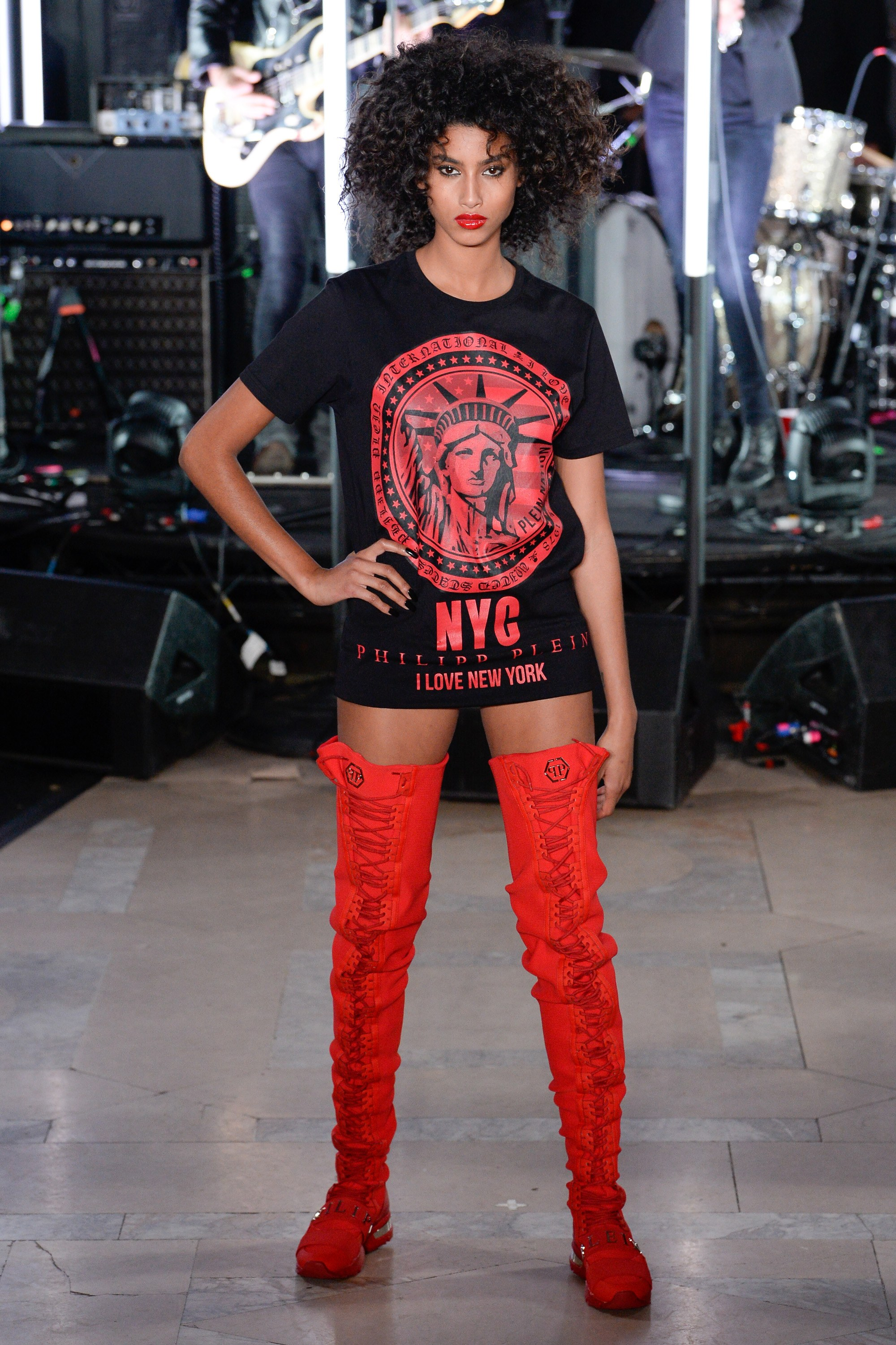 Philipp Plein Red Boots