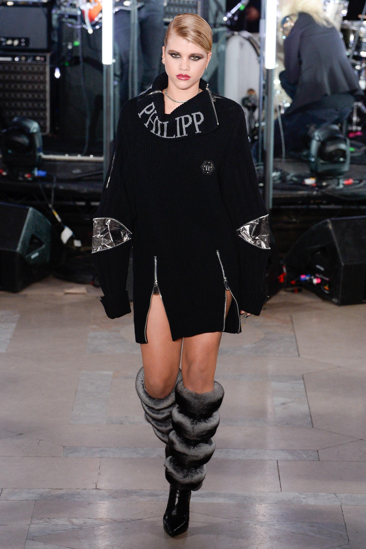 Philipp Plein Fur Boots