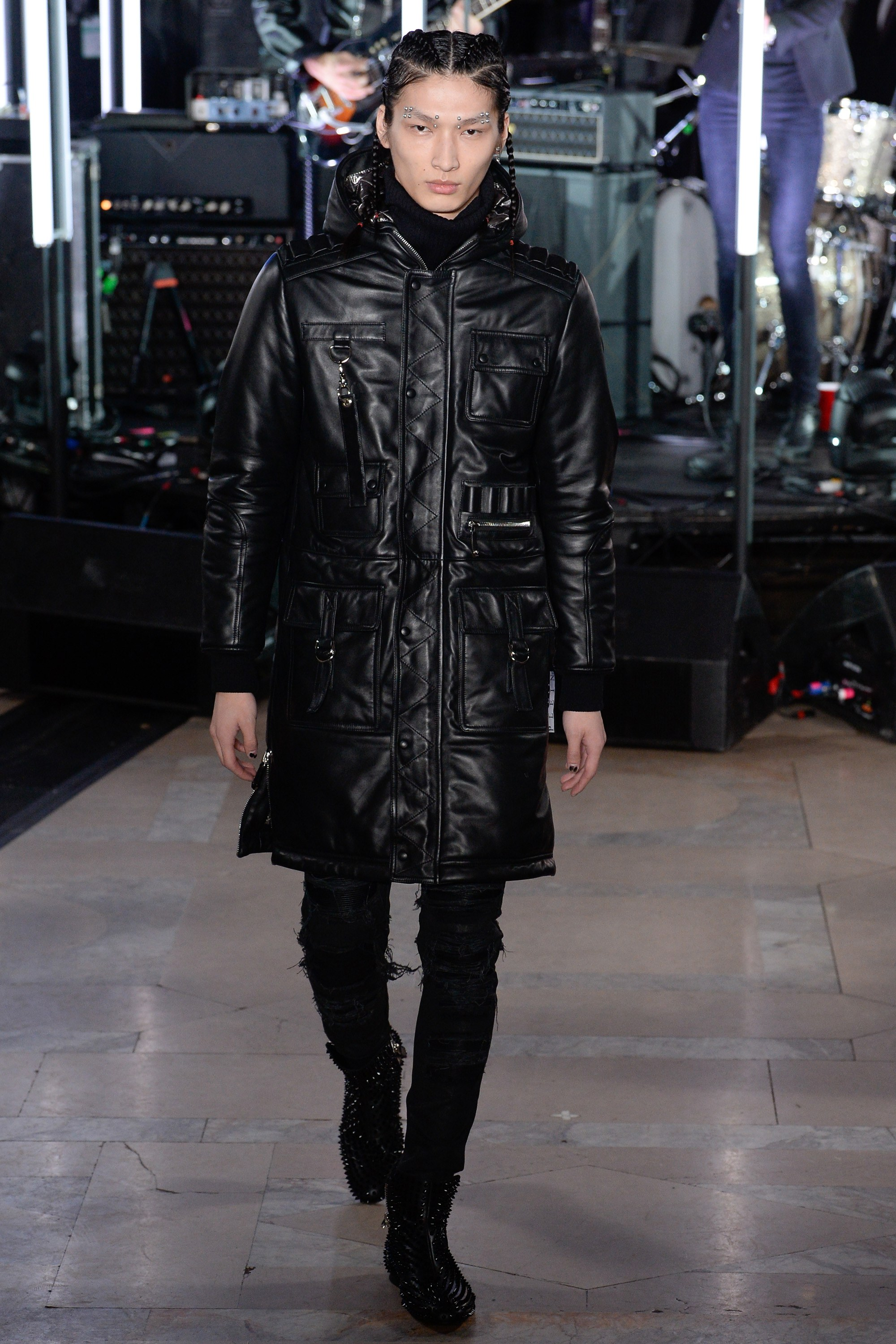 Asian Model in Philipp Plein