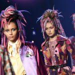 Models in Marc Jacobs Runway Show in Faux Dread Locks