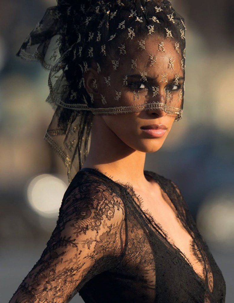 Vogue Arabia Fashion Editorial Cindy Bruna