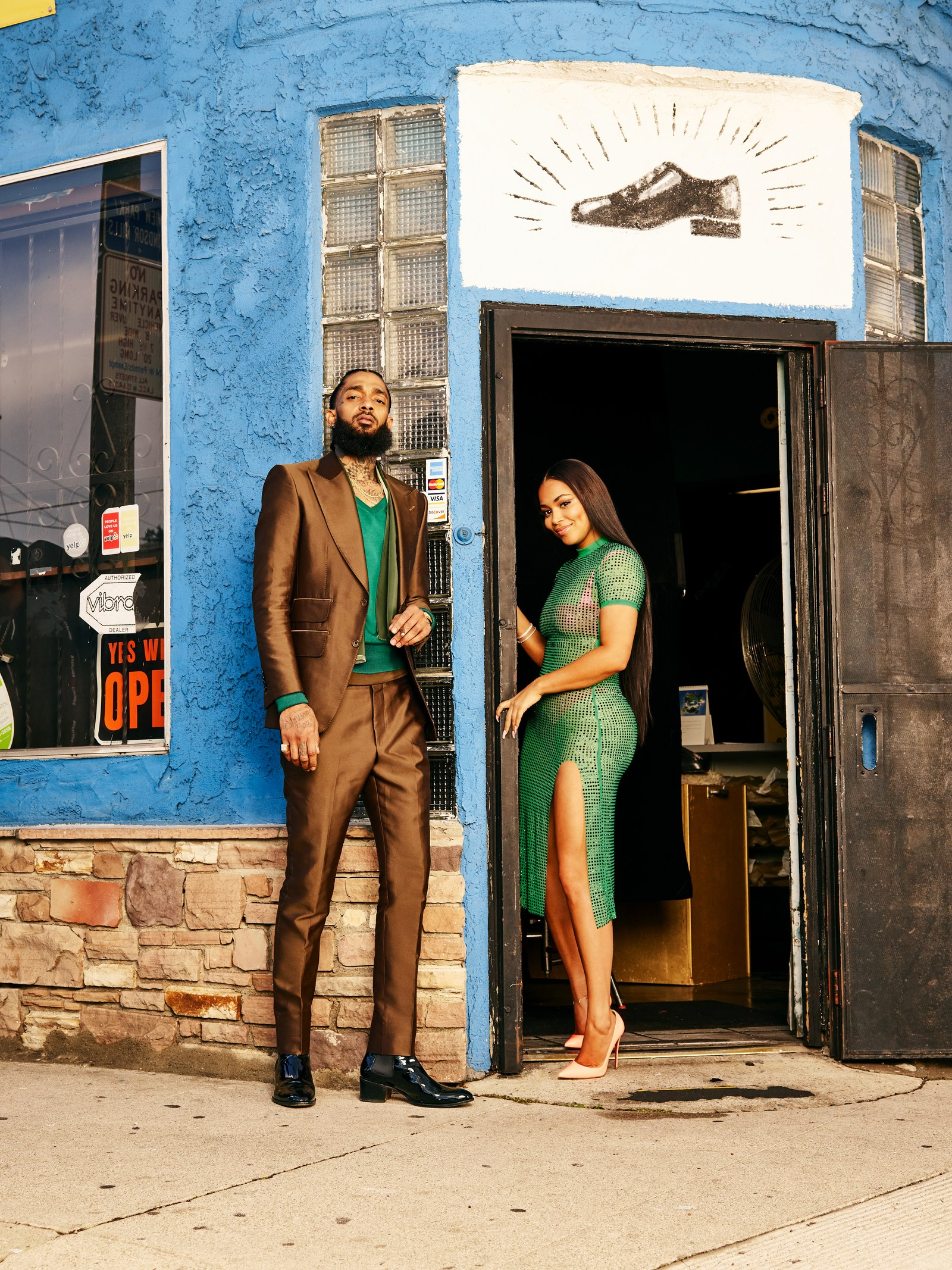Nipsey Hussle_Lauren London GQ2