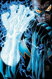 Black Lightning - electric hand