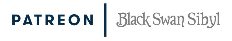 Patreon & Black Swan Sibyl logo
