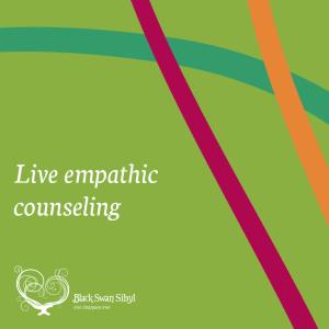Black Swan Sibyl ~ Empathic Counseling