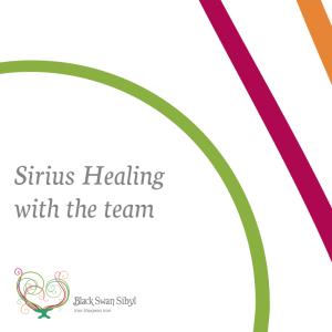 Black Swan Sibyl ~ Sirius Healing