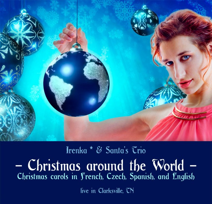 Christmas-around-the-world-Irenka-CD-cover-front-international-French,Czech,Spanish,English