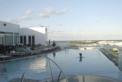 Photo of the Roof Top Pool at the Hilton at Resorts World Bimini