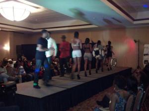 Fashion Show at Black Ski Trip