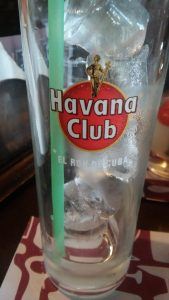 Havana Club glass