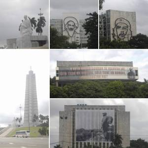 Picture of the buildings that make up Revolution Square
