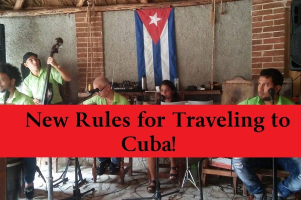 New Travel Rules to Cuba