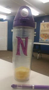 New Top for Nikki's Water Bottle