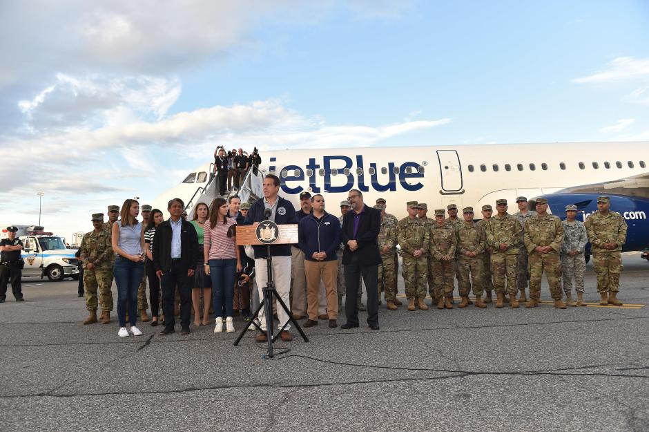 Governor Cuomo's press conference with JetBlue