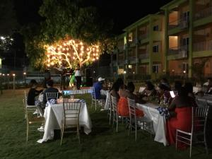 Dinner on the Lawn at the Oasis Resort Negril