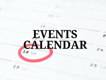Travel Planning Events Calendar