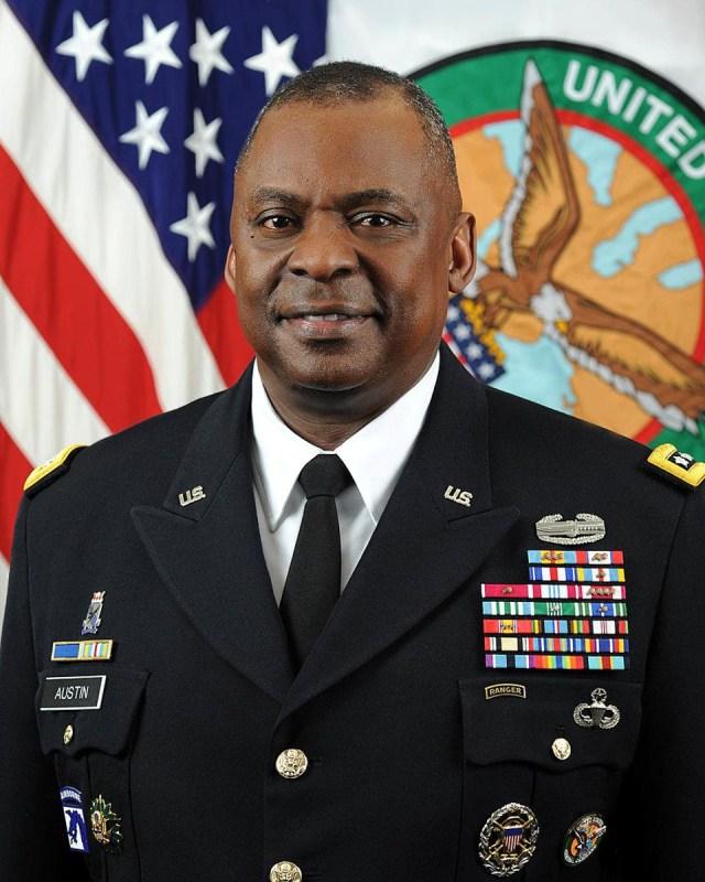 Portrait of General Loyd Austin