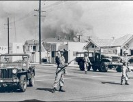 watts race riots photo 1965