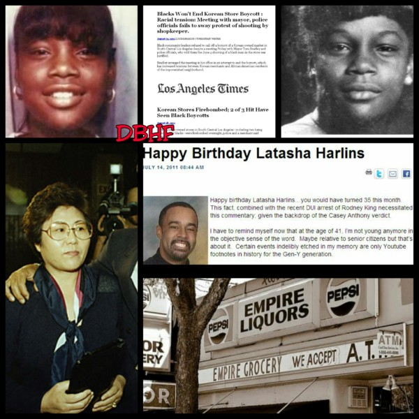 March 16, 1991: 15 Year Old Latasha Harlins Is Murdered By