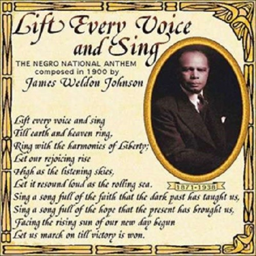 Be Our Guest Lyrics Sheet Music: The Black National Anthem: Lift Every Voice And Sing By