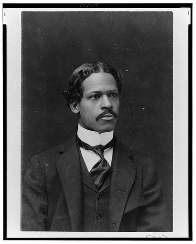 Flash Black Photo: African American Man at 1900 Paris Exhibition